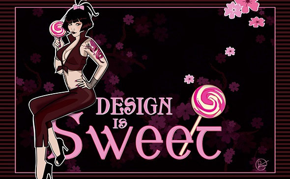 Design is Sweet Illustration