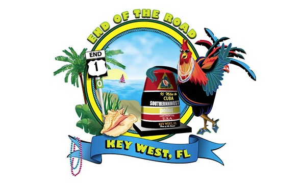 Key West Pecker Illustration