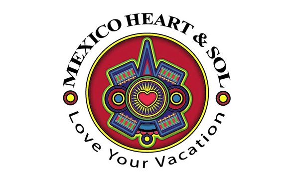 Mexico Heart and Sol Illustration